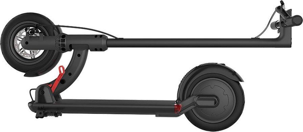 """Smarthlon 8,5"""" - Electrische Step - E-Scooter Power 25 km/h - Opvouwbaar - Zwart"""
