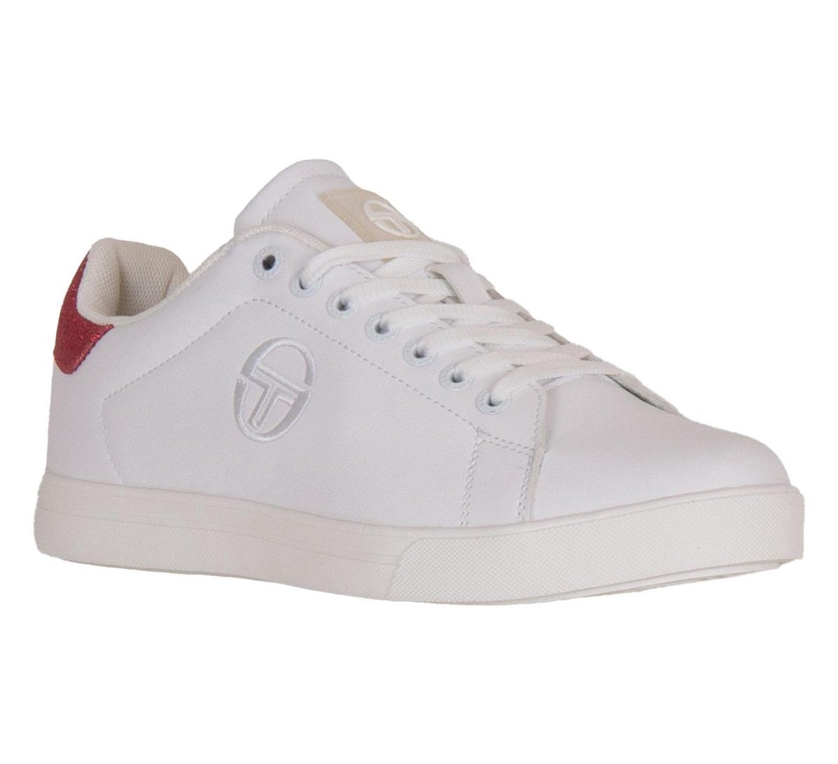 Sergio Tacchini Sneakers - Maat 40 - Vrouwen - wit/roze (glinsterend) qa6nr