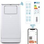 FlinQ Slimme Mobiele Airco 13000 BTU - WiFi Airconditioner - Mobiele Verkoeler Voor 130 m3 - iOS & Android -