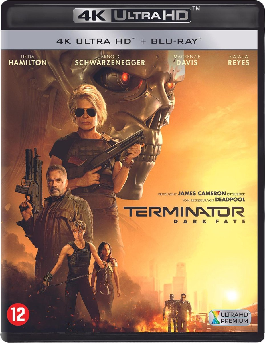 Terminator: Dark Fate (4K Ultra HD Blu-ray)-