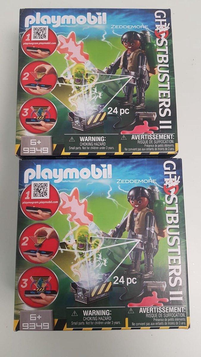 Playmobil figuur ghostbusters 2 stuks