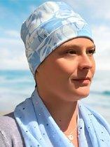 Softies Chemo muts - Beanie - Licht Blauw