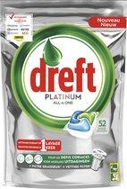 Dreft Platinum Vaatwascapsules - 52 stuks