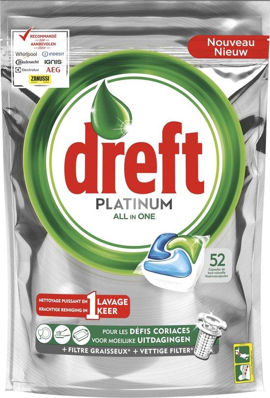 Dreft Platinum - 52 stuks - Wasmiddel Capsules