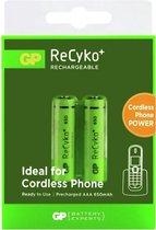 GP ReCyko+ AAA Oplaadbare Batterijen 650 mAh DECT