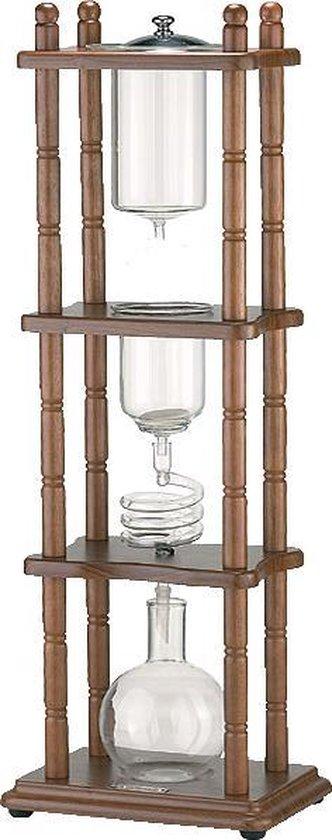 Klassieke Dutch Coffee maker / cold drip koffie toren - 750ml - rechthoekig model