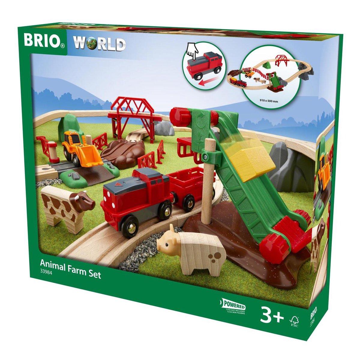 BRIO Boederijdierenset - 33984