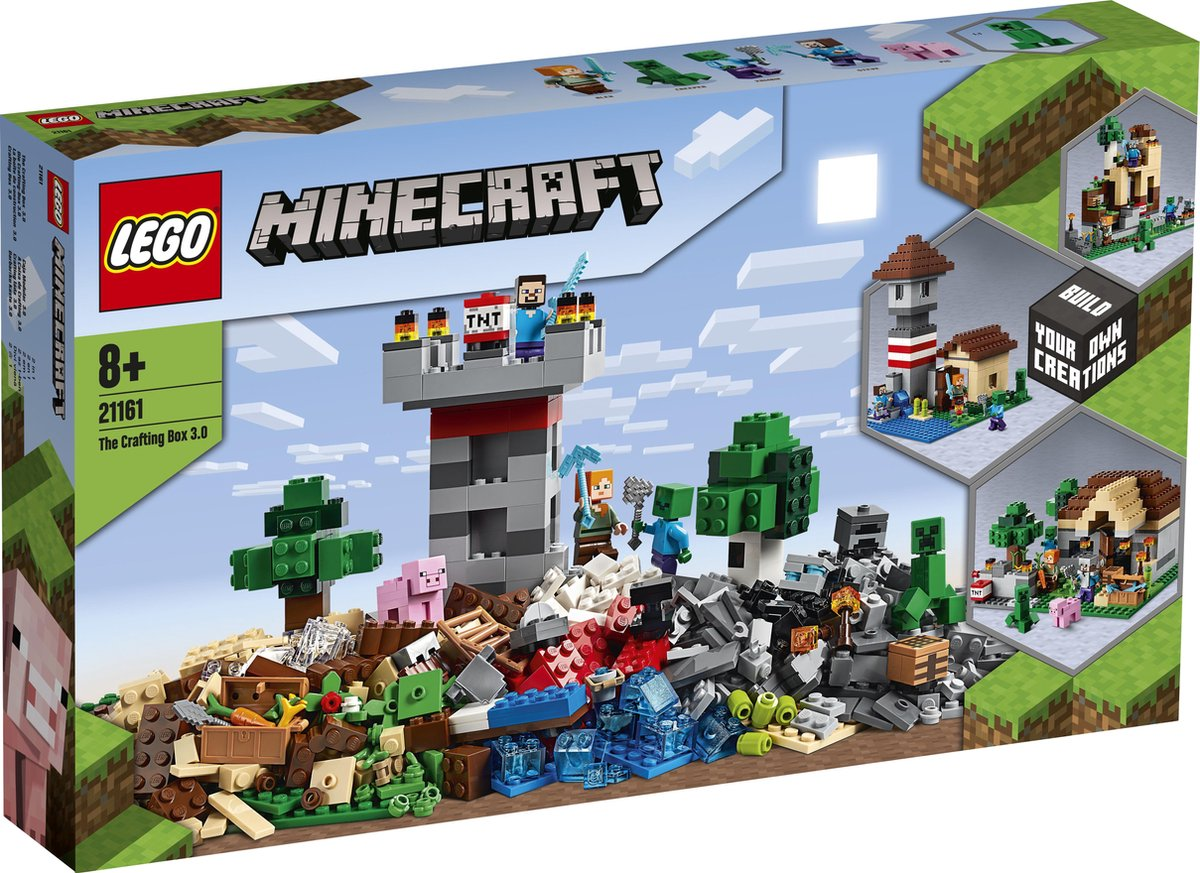 Bol Com Lego Minecract The Crafting Box 3 0 21161