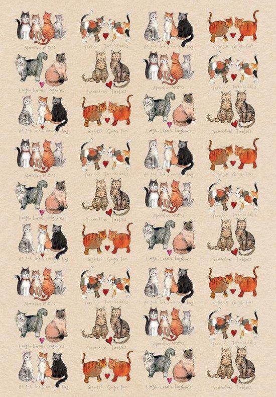 Alex Clark Theedoek Katten ~ Marvellous Moggies