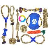Nobleza honden speelgoed set - 10 stuks