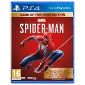 Marvel's Spider-Man - Game of the Year edition - PS4