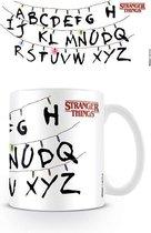 Stranger Things - Letters Mug