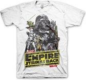 STAR WARS - T-Shirt The Empires Strike Back (XXL)