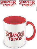 Stranger Things Logo Rood Mok