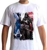 ASSASSINS CREED - Tshirt AC5 - Flag man SS white - basic