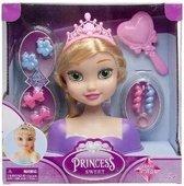 Lg-imports Kaphoofd Prinses Meisjes 21,5 Cm Blond 9-delig