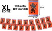Vlaggenlijn XL Holland Oranje Met Leeuw 100 meter