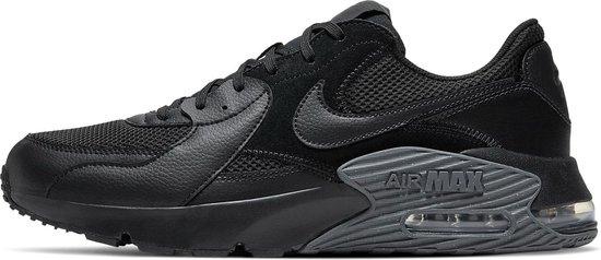 Nike Air Max Excee Heren Sneakers - Black/Black-Dark Grey - Maat 42.5