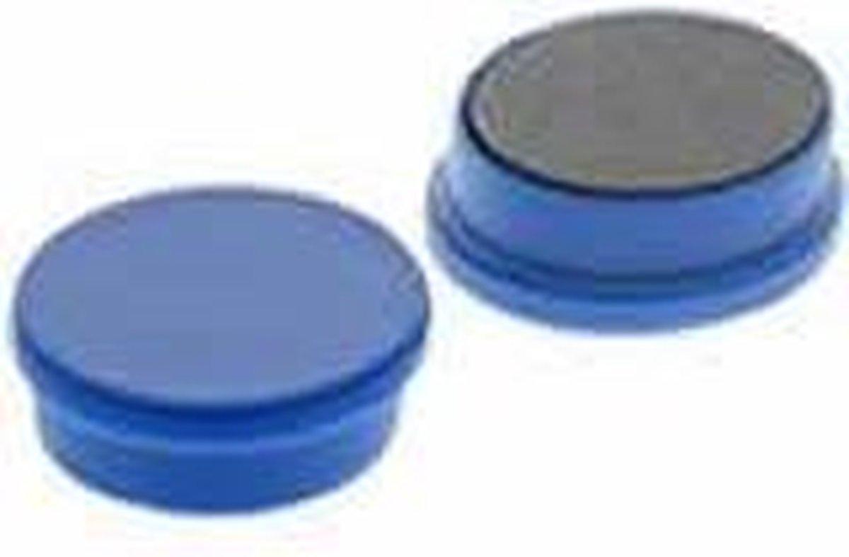 Whiteboard Magneten 20 mm - Blauw - 10 Stuks