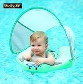 WoYoW® Veilige Baby Zwemtrainer – Zwemband – Float – Zwemles – Zwemvest – Groen