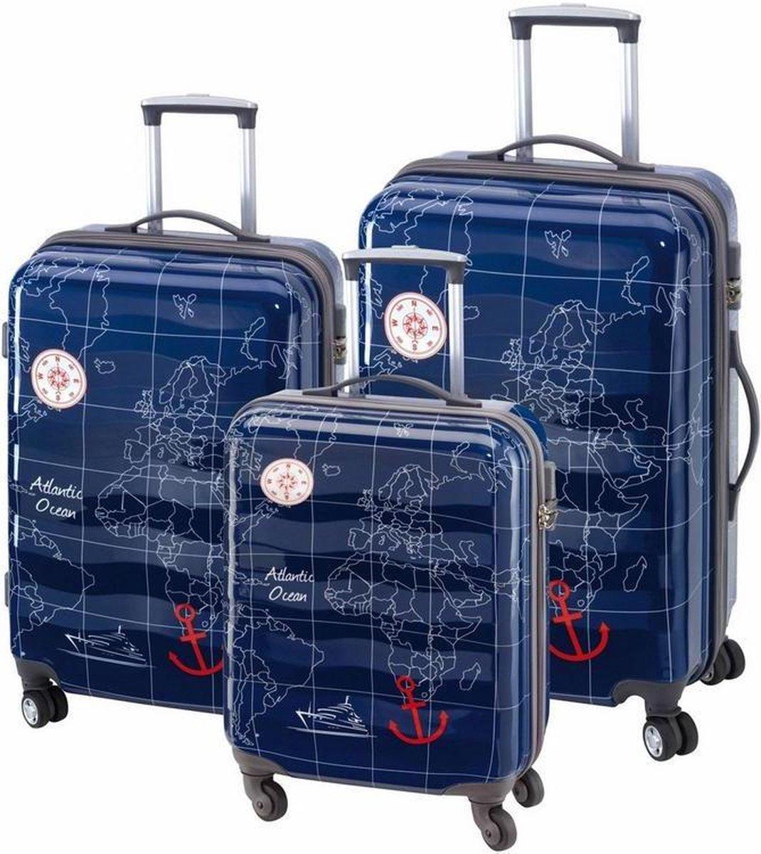 3-delige ABS/Polycarbonaat reiskoffer set-Madeira Check.In kopen