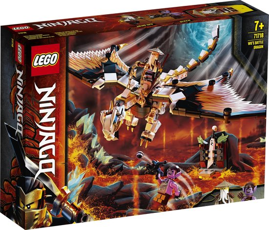 Afbeelding van LEGO NINJAGO Wus Gevechtsdraak - 71718 speelgoed