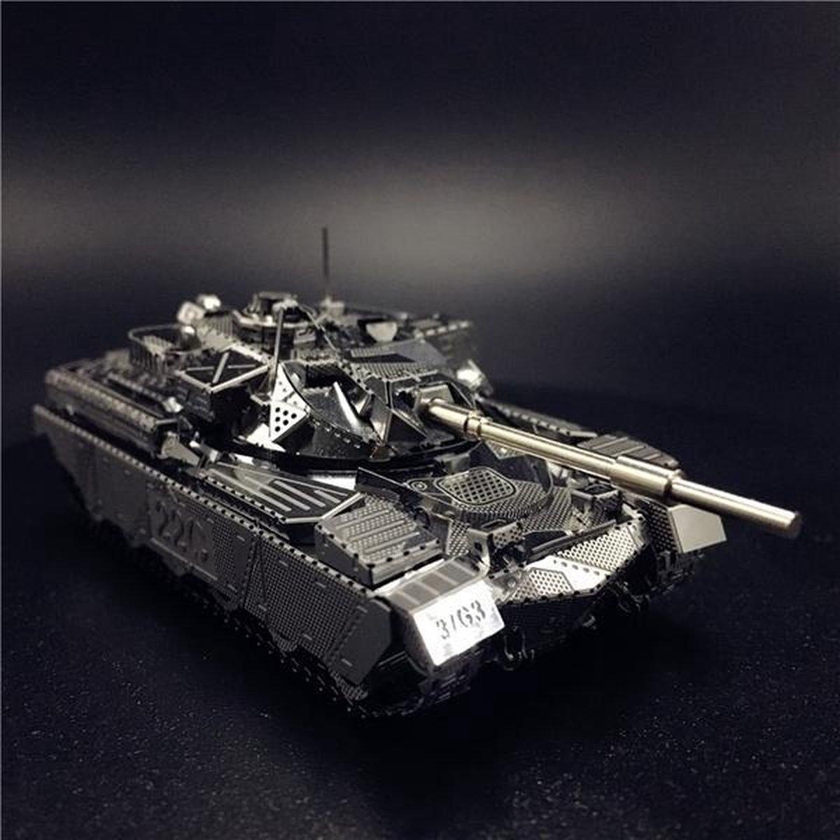 3d puzzel metaal tank Chieftain MK50, 3d puzzel Chiefain MK50, 3d puzzel MK50
