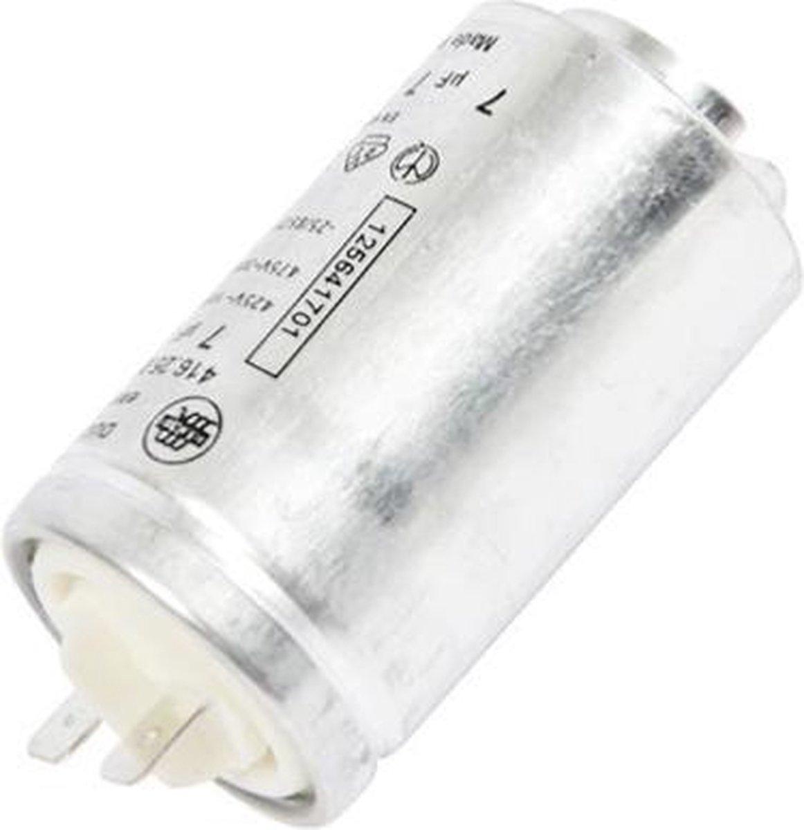 Condensator 7UF 7 uf  aanloopcondensator wasdroger droger Aeg Electrolux