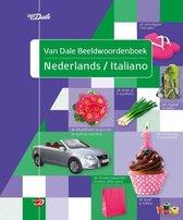 Boek cover Van Dale beeldwoordenboek  -   Van Dale beeldwoordenboek Nederlands/Italiano van Hans de Groot (Paperback)