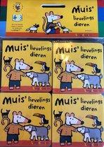 Uitdeelboekjes Muis lievelingsdieren