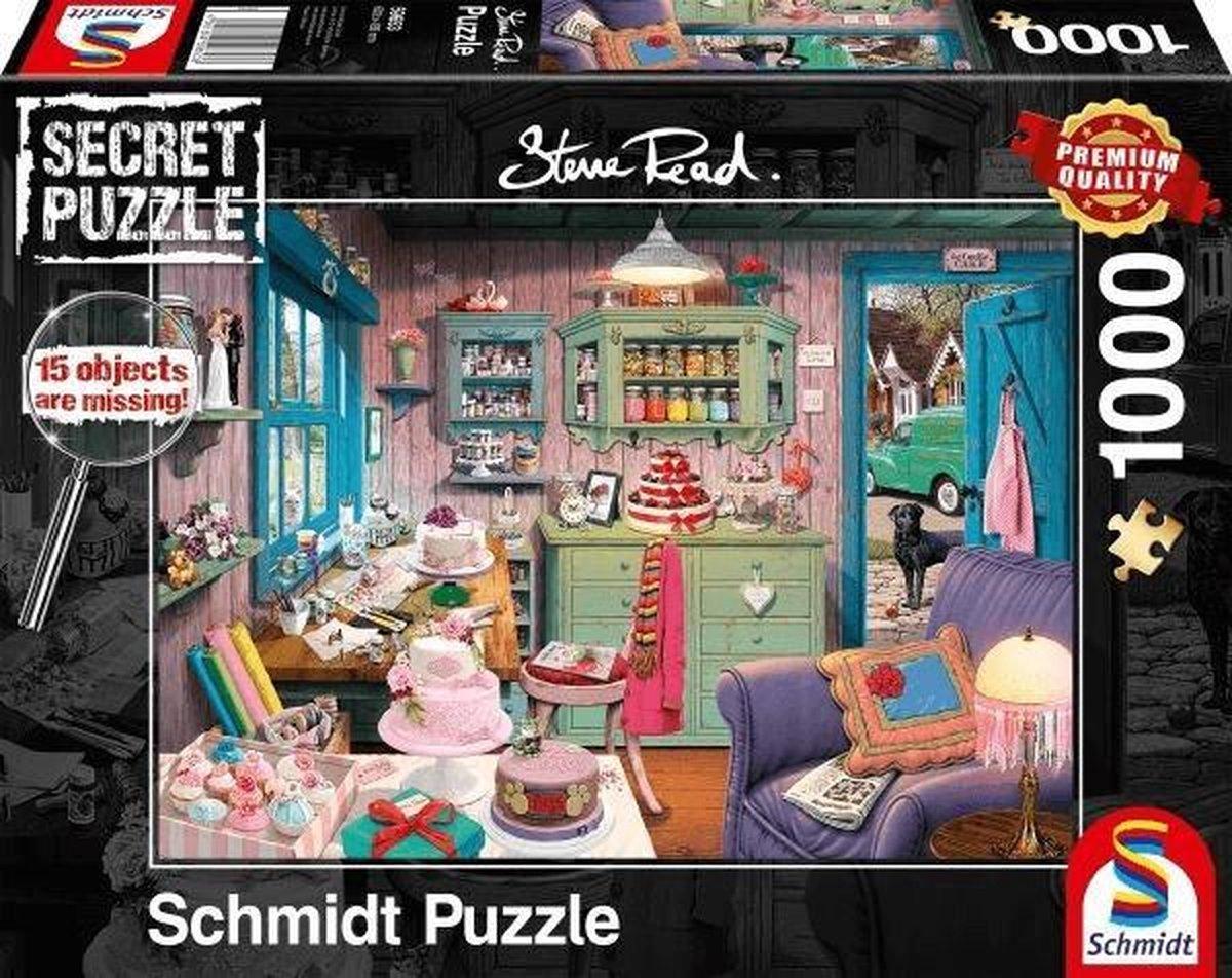Grootmoeders Kamer, 1000 stukjes Puzzel