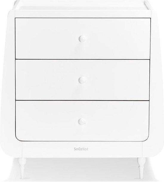Product: Snuzkot Changing unit Rococo   White, van het merk Snuzkot