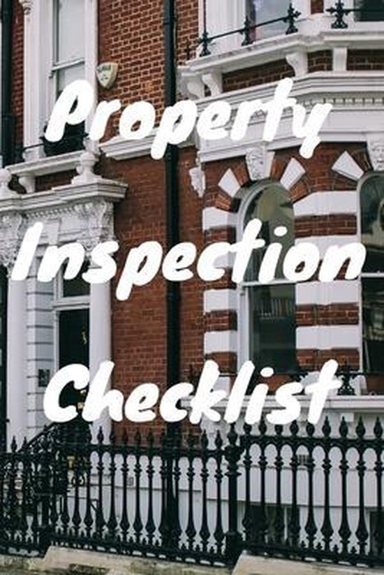 Property Inspection Checklist Book