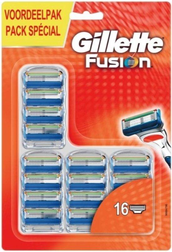 Gillette fusion5 16 Scheermessen