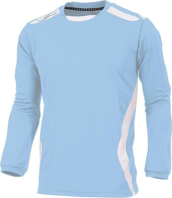 hummel Club Shirt l.m. Sportshirt - Blauw - Maat XXL