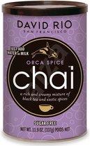 David Rio Chai Tea Latte Orca Spice Chai (suikervrij)