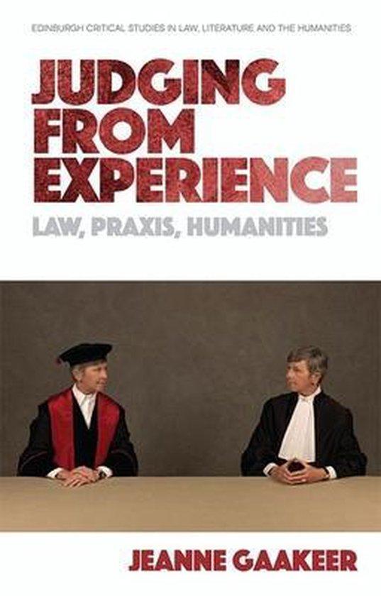 Boek cover Judging from Experience van Jeanne Gaakeer (Paperback)