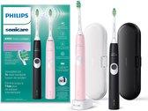 Philips Sonicare ProtectiveClean 4300 HX6800/35 - Elektrische tandenborstel - Roze & Zwart
