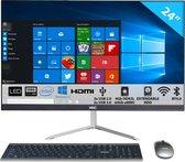 HKC AIO24P1-64Gb All-in-One-PC 24 inch Full HD - 4 Gb RAM, 64 Gb SSD,Intel® Celeron Processor N4000 Dual Core 2.6GHz, Intel® UHD Graphics 600, Windows 10 Home, WiFi, Bluetooth, USB, HDMI