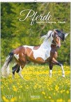 Paarden / Pferde Kalender 2021 (formaat 33x47)