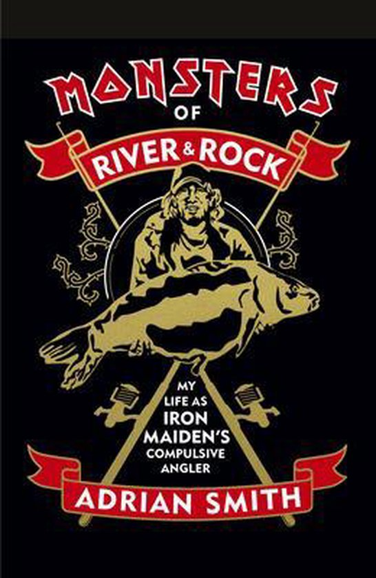 Boek cover Monsters of River and Rock van Adrian Smith (Hardcover)