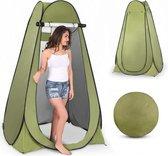HBKS Douchetent – Pop up Tent - Camping Douche – WC Tent – Omkleedtent – 200 cm – 2 Persoons - Incl. Haringen - Groen