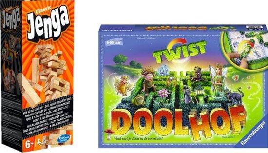Bol Com Spelvoordeelset Betoverde Doolhof Twist Jenga Classic Gezelschapsspel Games