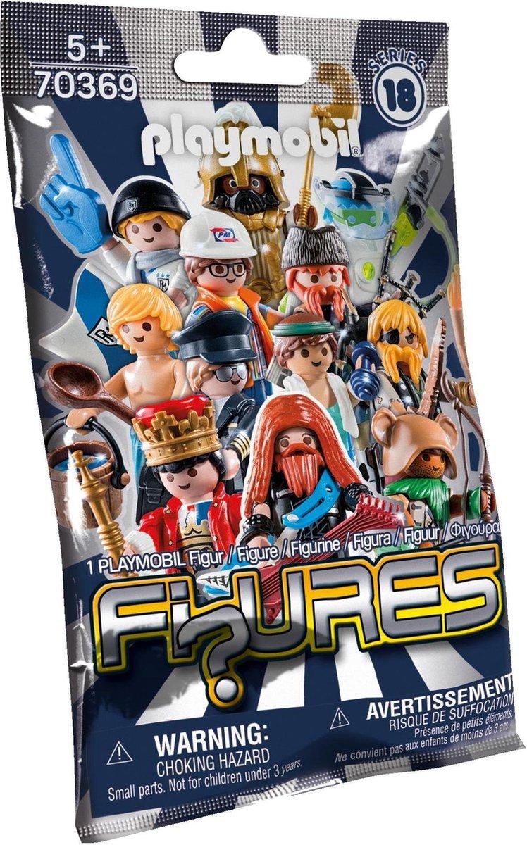 PLAYMOBIL Figures Series 18 - Jongens - 70369