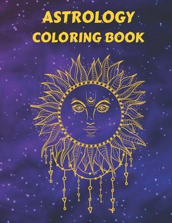 Astrology Coloring book