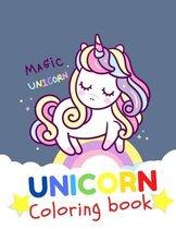 UNICORN Coloring Book Magic unicorn