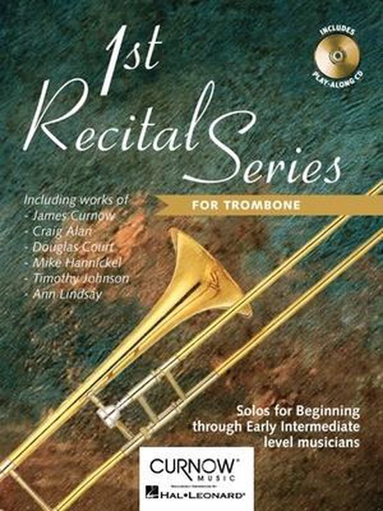 1st Recital Series for Trombone - Divers |