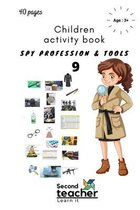 Spy Profession and Tools;children Activity Book-9