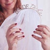Tiara bride to be met sluier