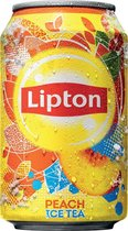 Lipton Ice Tea Green blik 24x33 cl